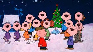 peanuts singing carols